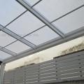 หลังคาดีไลท์ สีขาวเมฆ โครงเหล็ก (D-Lite)