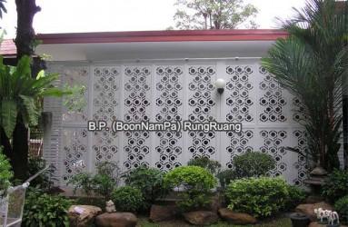 จัดสวน, มุมโปรด, แผงบังตาไวนิล, ฉลุลายไวนิล